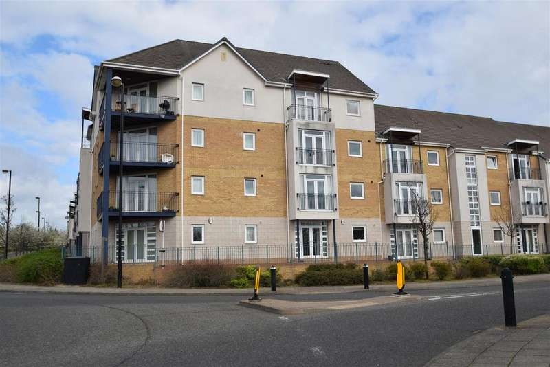 2 Bedrooms Apartment Flat for sale in Hackworth Way, North Shields