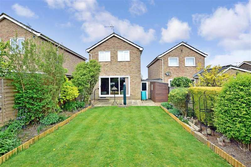 3 Bedrooms Link Detached House for sale in Downside Road, Whitfield, Dover, Kent