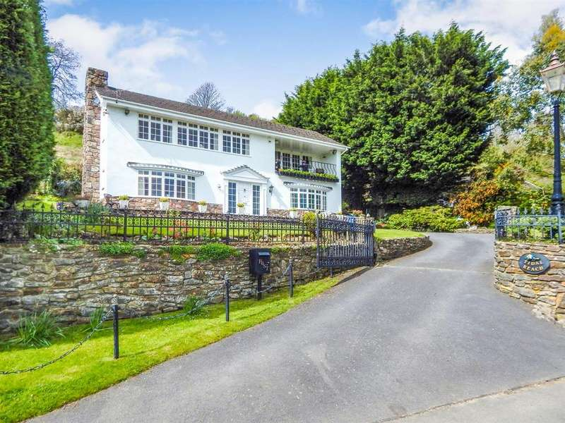 4 Bedrooms Detached House for sale in Landimore, Gower