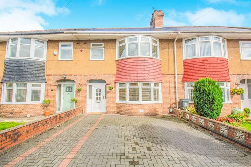 3 Bedrooms Terraced House for sale in Fairfax Road, Cardiff