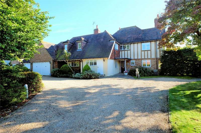 5 Bedrooms Detached House for sale in The Leas, Chestfield, WHITSTABLE, Kent