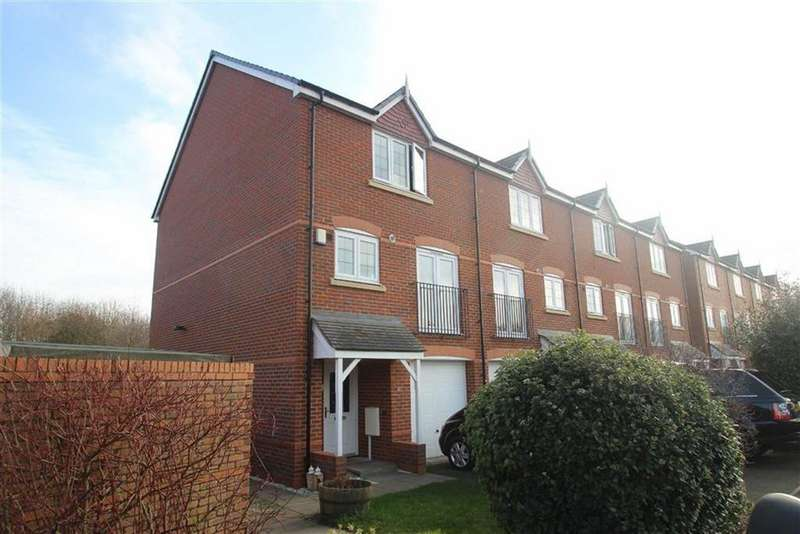 3 Bedrooms End Of Terrace House for sale in Oswell Road, Shrewsbury