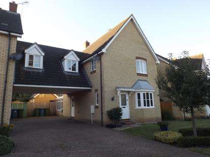 3 Bedrooms Link Detached House for sale in Ipswich, Suffolk