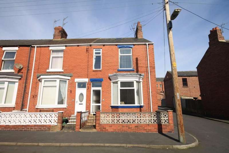 3 Bedrooms End Of Terrace House for sale in Belle Vue Terrace, Willington, Crook