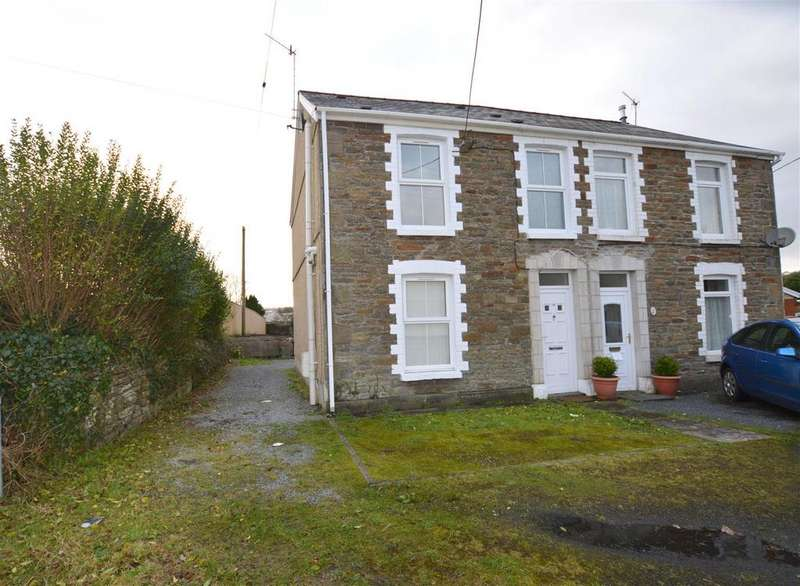 2 Bedrooms Semi Detached House for sale in Bank Road, Llangennech, Llanelli