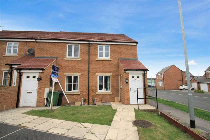 2 Bedrooms End Of Terrace House for sale in ST. BENEDICT MEWS, LEEDS, LS14 5PF