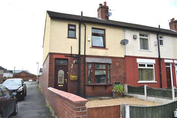3 Bedrooms End Of Terrace House for sale in Edward St, Leigh