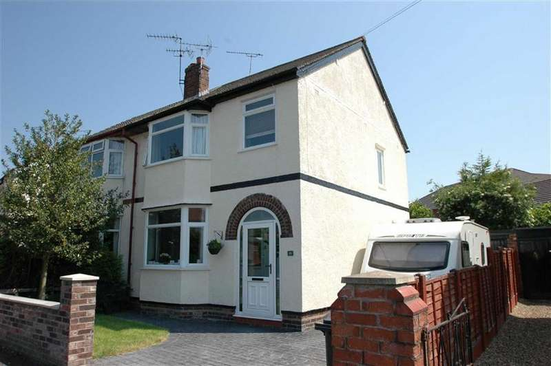 3 Bedrooms Semi Detached House for sale in Stocks Avenue, Boughton, Chester