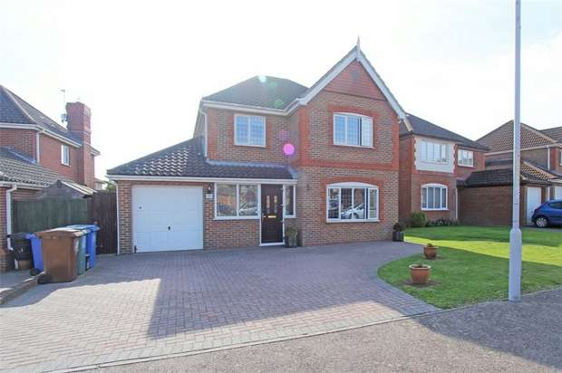 4 Bedrooms Detached House for sale in Cinnabar Drive, The Meads, Sittingbourne, Kent