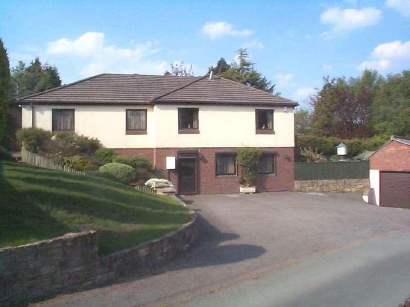 4 Bedrooms Detached Bungalow for sale in Gardden, Ruabon, Wrexham