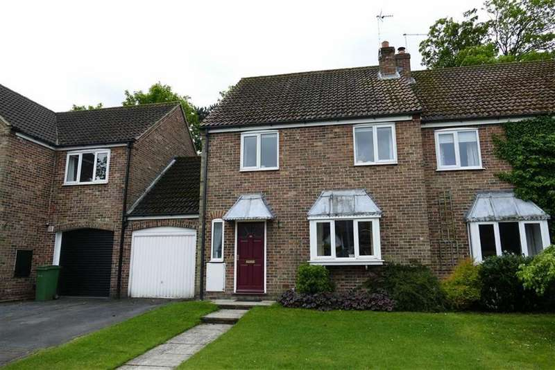 4 Bedrooms Semi Detached House for sale in St Nicholas Close, North Newbald