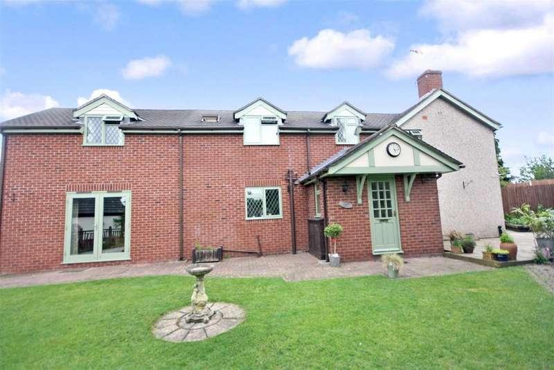 3 Bedrooms Semi Detached House for sale in Ellesmere Road, St. Martins, Oswestry