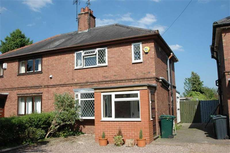 3 Bedrooms Semi Detached House for sale in Elms Cottages, Townfield Lane, Mollington, Chester