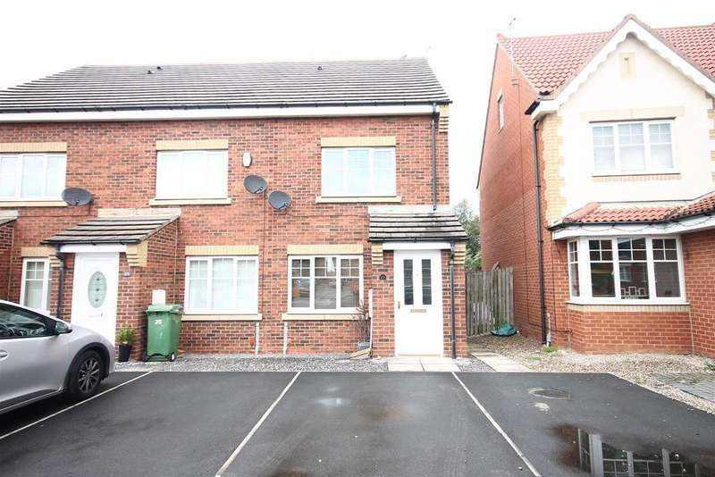 3 Bedrooms End Of Terrace House for sale in Hatchlands Park Ingleby Barwick, Stockton On Tees