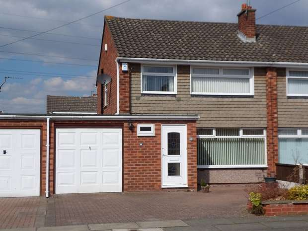 3 Bedrooms Semi Detached House for rent in Sutherland Drive, Eastham