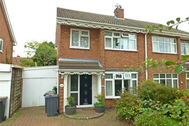 3 Bedrooms Semi Detached House for sale in Wiclif Way, Church Farm, Nuneaton, Warwickshire