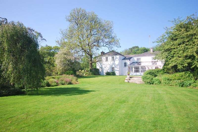 5 Bedrooms Detached House for sale in Idless, Nr. Truro, South Cornwall, TR4