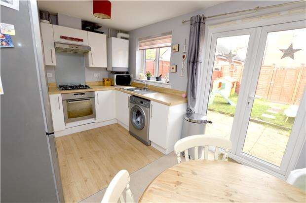 3 Bedrooms Terraced House for sale in Jack Russell Close, Stroud, Gloucestershire, GL5 4EH