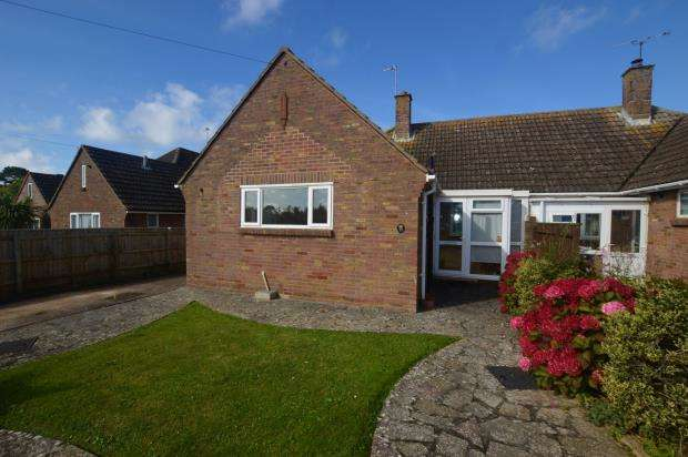 2 Bedrooms Semi Detached Bungalow for sale in Crossingfields Drive, Exmouth, Devon