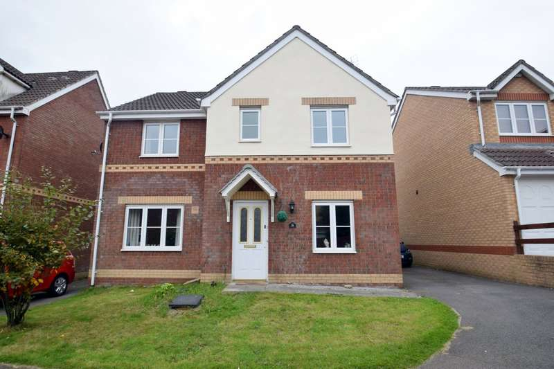 4 Bedrooms Detached House for sale in 24 Hill Court, Broadlands, Bridgend, Bridgend County Borough, CF31 5BX.