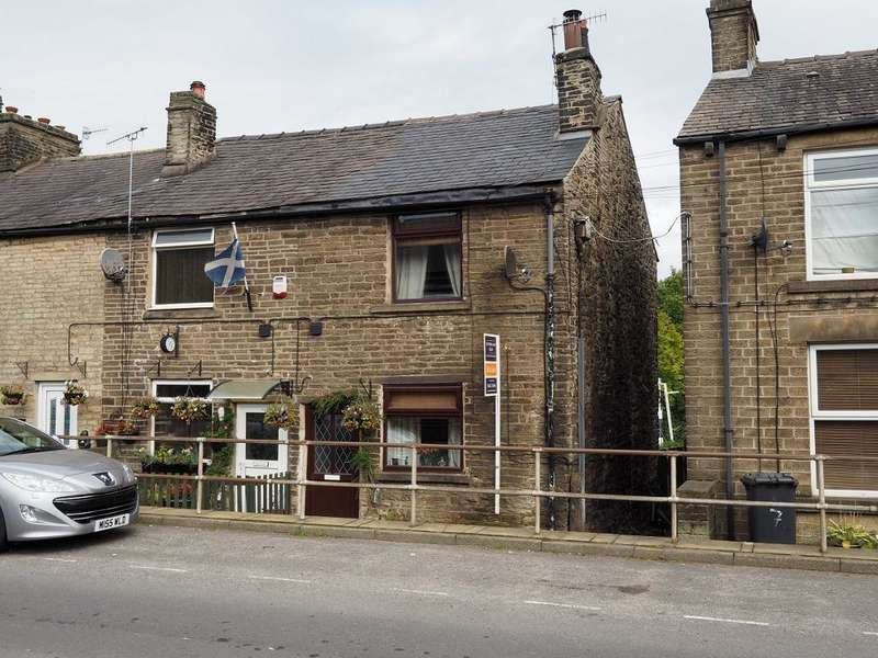 2 Bedrooms Terraced House for sale in Buxton Road, Furness Vale, High Peak, Derbyshire, SK23 7PQ