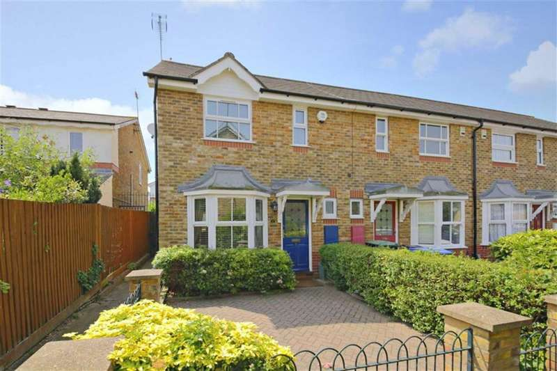 2 Bedrooms Terraced House for sale in Chadwick Avenue, Winchmore Hill, London