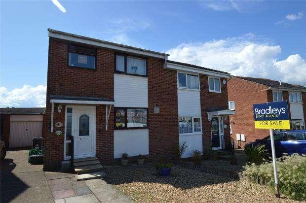3 Bedrooms Semi Detached House for sale in Cedar Close, Exmouth, Devon