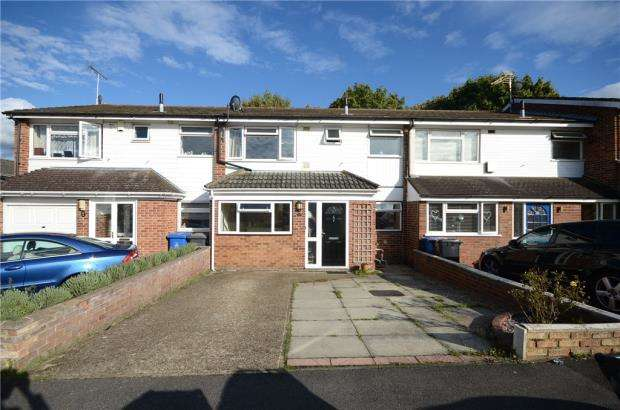 3 Bedrooms Terraced House for sale in Burnham Close, Windsor, Berkshire