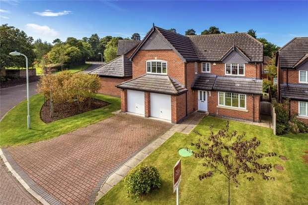 5 Bedrooms Detached House for sale in 4 Villa Farm Close, High Heath, Market Drayton, Shropshire