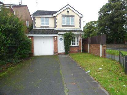 3 Bedrooms Detached House for sale in Scoter Road, Kirkby, Liverpool, Merseyside, L33