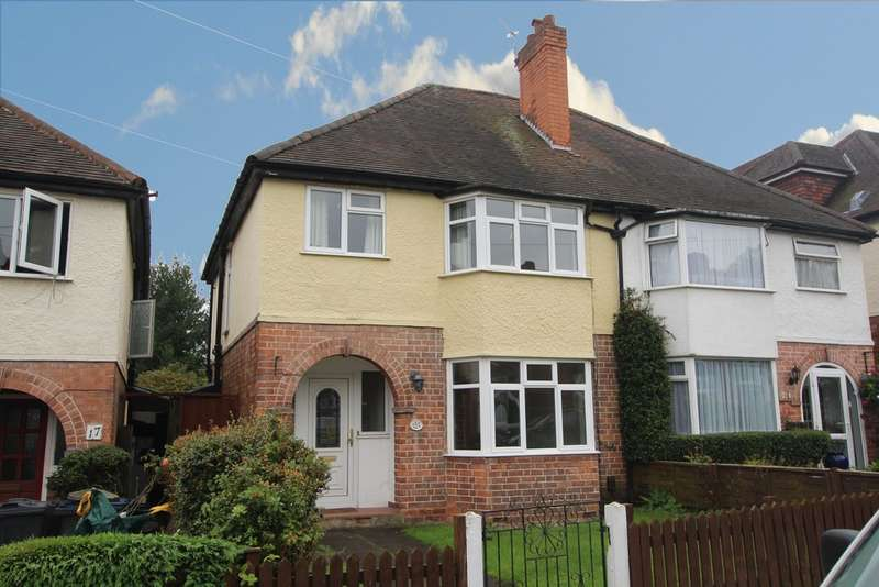 3 Bedrooms Semi Detached House for sale in Elms Road, Sutton Coldfield, B72 1JE