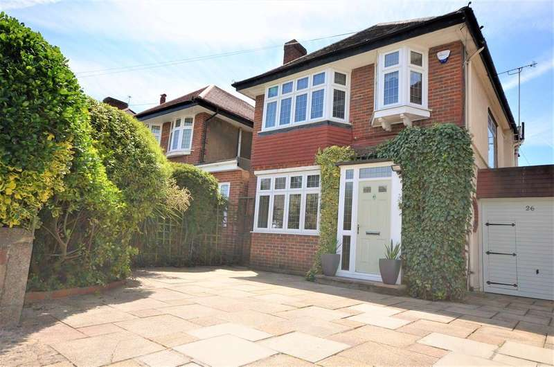 3 Bedrooms Detached House for sale in Donnington Road, Kenton, Harrow,, Middlesex. , HA3 0NA