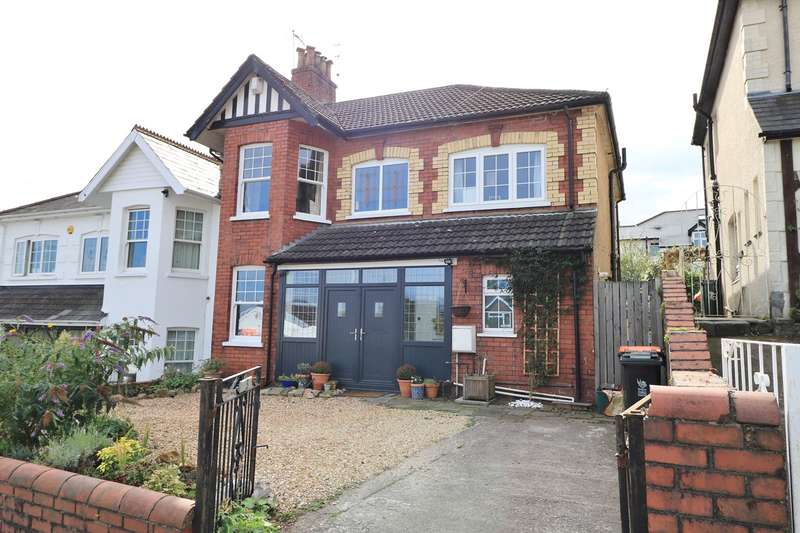 4 Bedrooms Semi Detached House for sale in Llwynderi Road, Newport, NP20