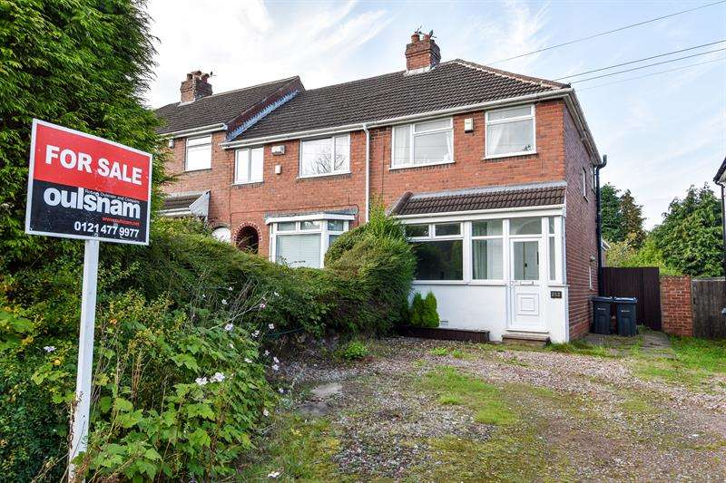 3 Bedrooms End Of Terrace House for sale in Groveley Lane, Longbridge, Birmingham