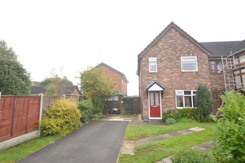 3 Bedrooms Semi Detached House for sale in Byron Close, Middlewich, CW10
