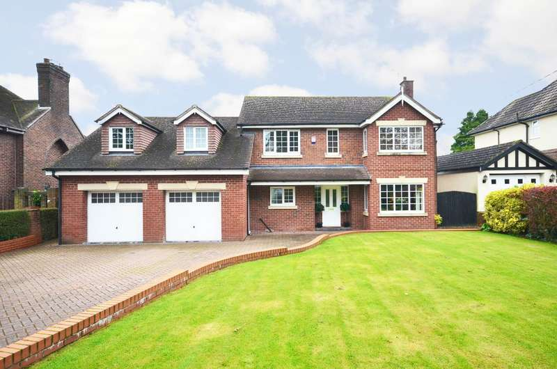 5 Bedrooms Detached House for sale in Stallington Road, Blythe Bridge, ST11 9PB