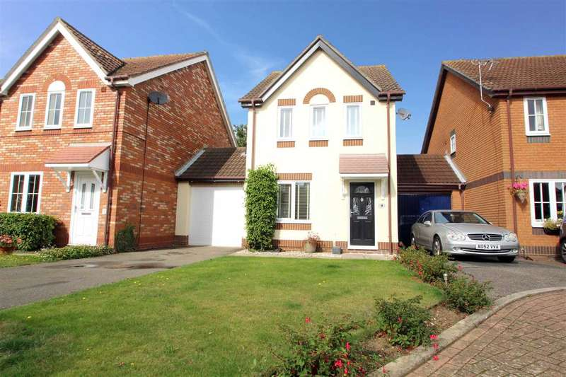 3 Bedrooms Link Detached House for sale in Knights Lane, Kesgrave