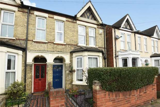 3 Bedrooms Semi Detached House for sale in Preston Road, Bedford