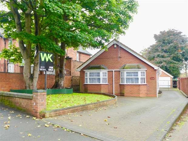3 Bedrooms Detached Bungalow for sale in Heath Lane, WEST BROMWICH, West Midlands