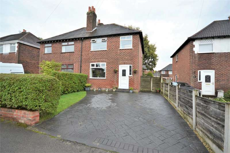 3 Bedrooms Semi Detached House for sale in Garthland Road, Hazel Grove