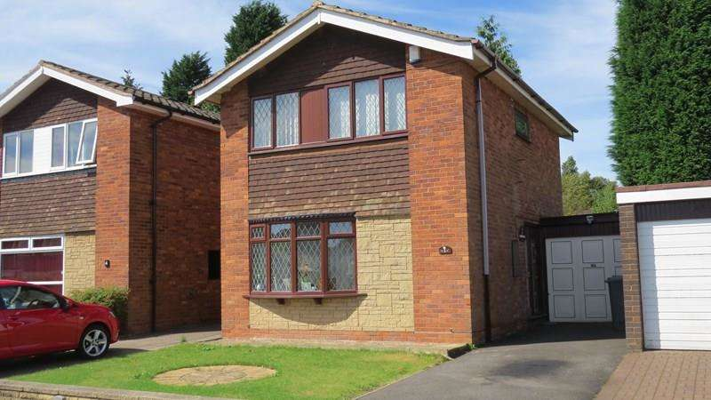 3 Bedrooms Detached House for sale in Deborah Close, Goldthorn Hill, Wolverhampton