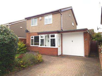 3 Bedrooms Detached House for sale in Hargill Drive, Rickleton, Washington, Tyne and Wear, NE38