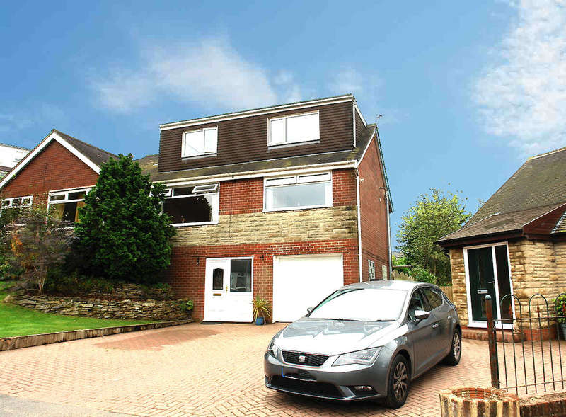 4 Bedrooms Semi Detached House for sale in Claytons Close, Springhead, Saddleworth