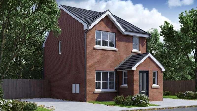 3 Bedrooms Detached House for sale in Vicarage Gardens, Platt Bridge, Wigan, WN2
