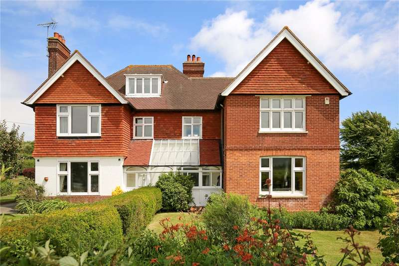 4 Bedrooms Detached House for sale in Station Road, Berwick, East Sussex, BN26
