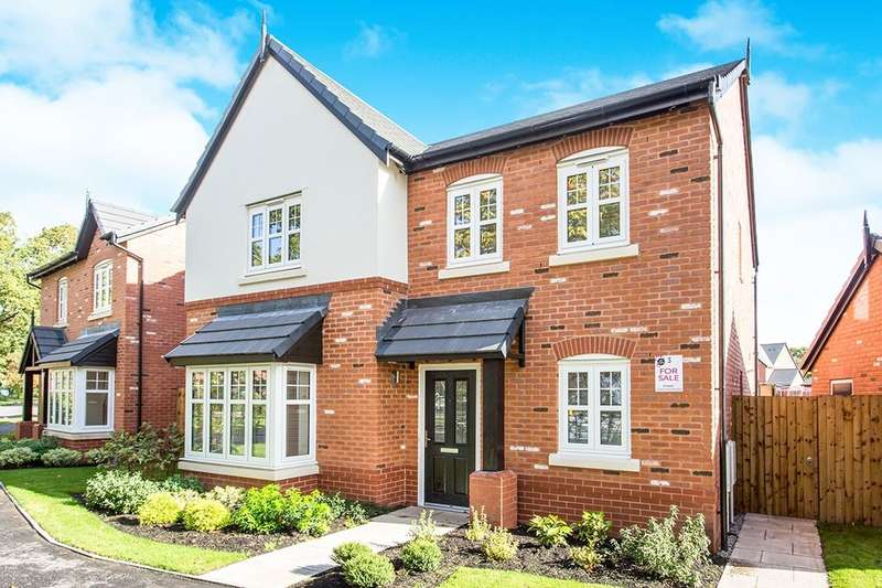 4 Bedrooms Detached House for sale in Manor Lane, Holmes Chapel, Crewe, CW4