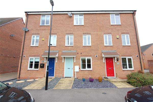 4 Bedrooms Terraced House for sale in Summerhill Lane, Bannerbrook Park, Coventry