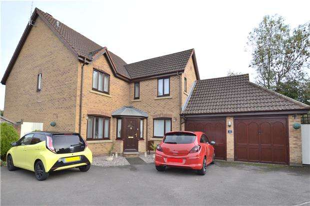 5 Bedrooms Detached House for sale in The Oaks, Abbeymead, GLOUCESTER, GL4 5WP