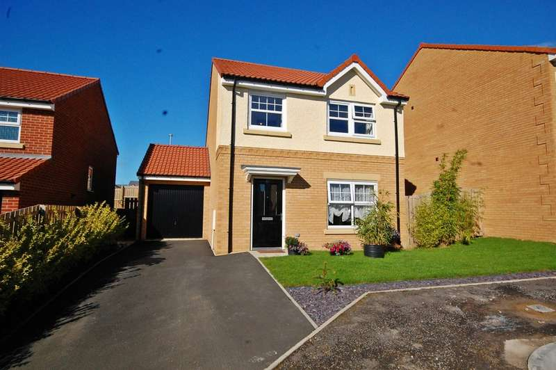 4 Bedrooms Detached House for sale in Chadwick Close, Ushaw Moor, Durham