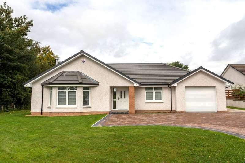 4 Bedrooms Detached Bungalow for sale in Rosedale Gardens, Greenlea, Dumfries, DG1